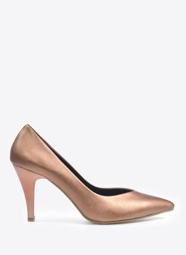 Vizon Ayakkabı Ayakkabı Bronz